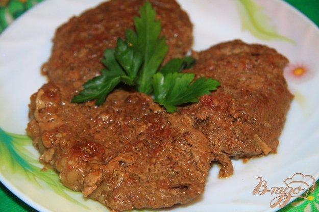 фото рецепта: Тушеная свинина в соевом соусе