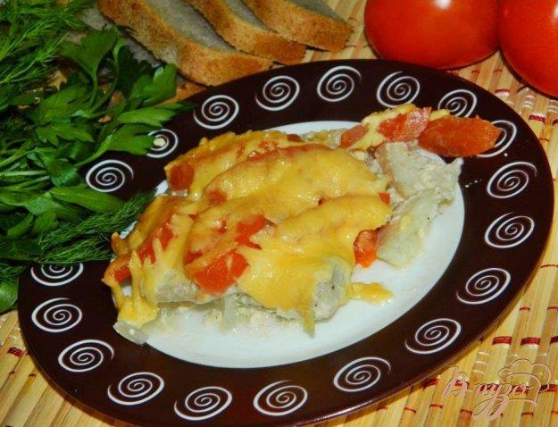 Рыба рецепты с помидорами и перцем