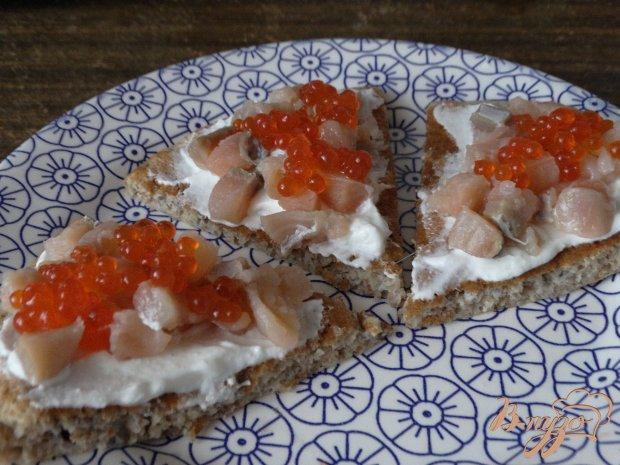 бутерброды с соленой горбушей рецепты с фото