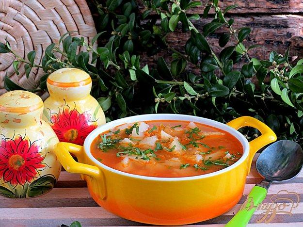 фото рецепта: Рассольник с томатом