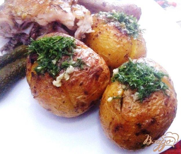 фото рецепта: Ароматный запеченный картофель
