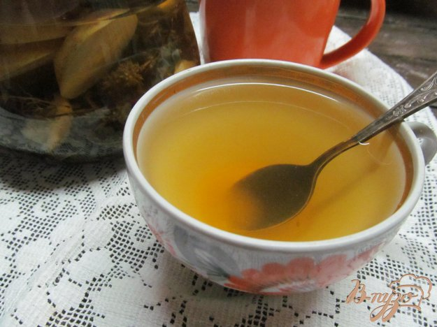 фото рецепта: Чай с грушей и чабрецом