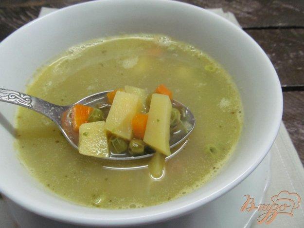 фото рецепта: Суп с горохом и нутом