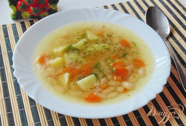 фото рецепта: Постный фасолевый суп