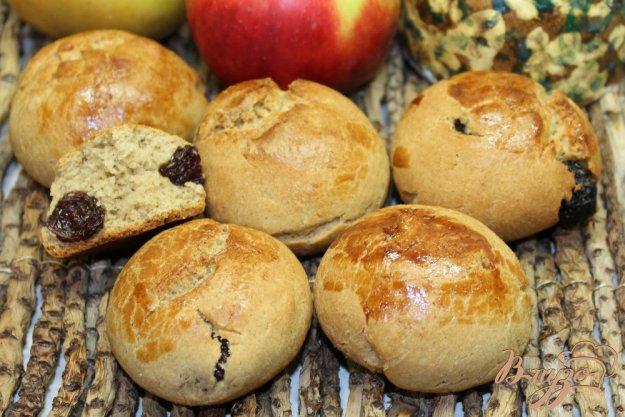 Вкусные булочки с изюмом рецепт с фото