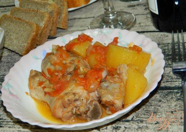 Жидкая картошка с курицей рецепт 123