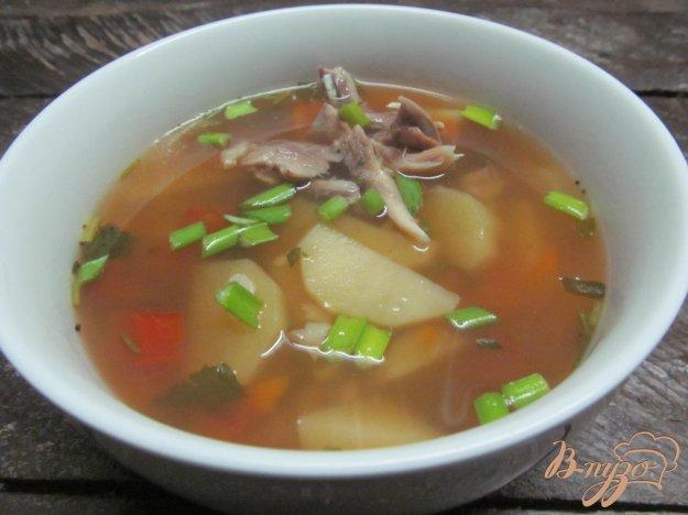 фото рецепта: Рыбный суп с булгуром