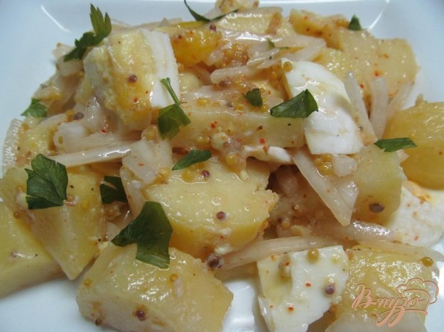 фото рецепта: Турецкий картофельный салат