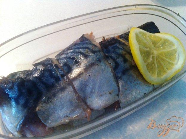 фото рецепта: Слабосоленая скумбрия