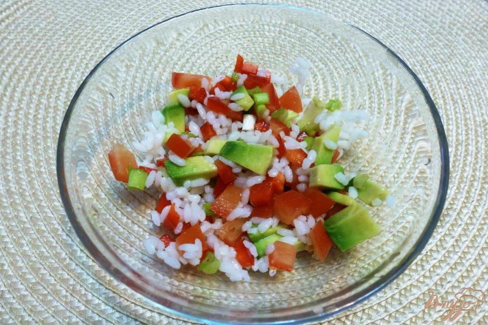 Салат из морского коктейля с рисом рецепты с