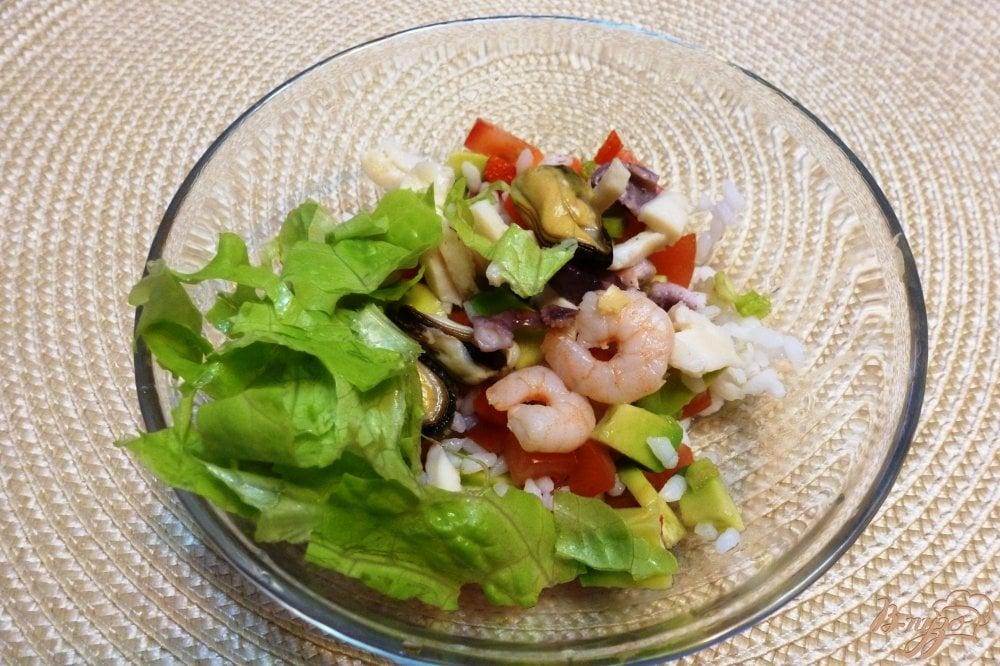 Салат морской коктейль рецепт с фото пошагово