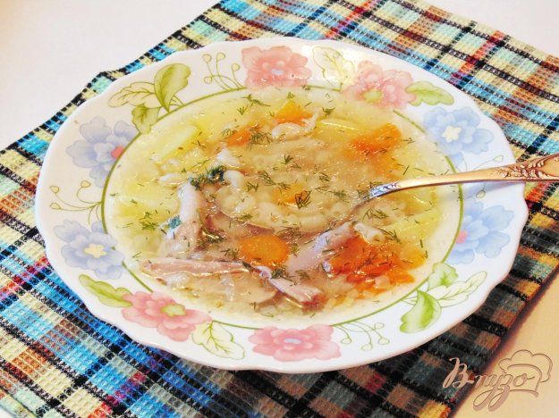 фото рецепта: Куриный суп с  макаронами
