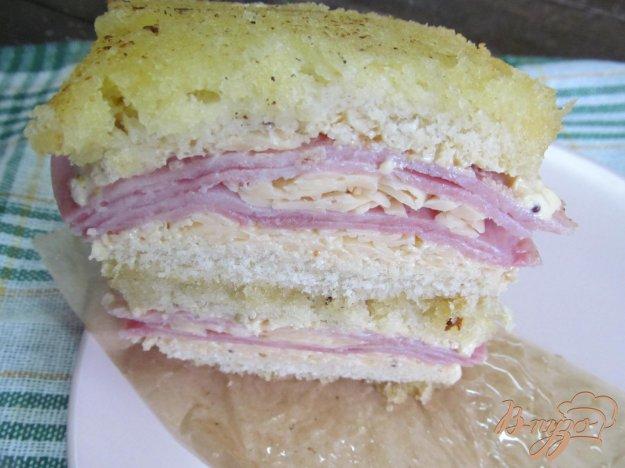 фото рецепта: Сэндвич крок месье