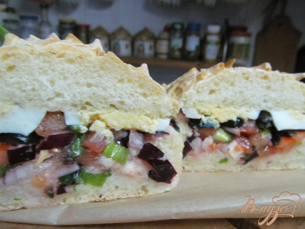 фото рецепта: Сэндвич пан-банья