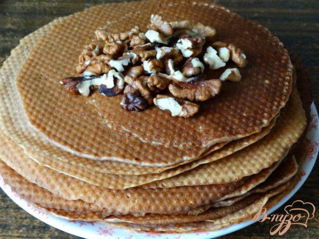 фото рецепта: Ореховые блинчки