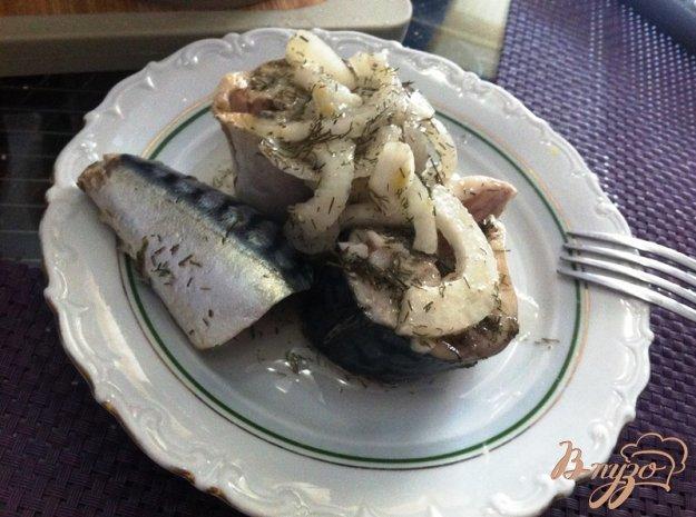 фото рецепта: Сагудай из скумбрии