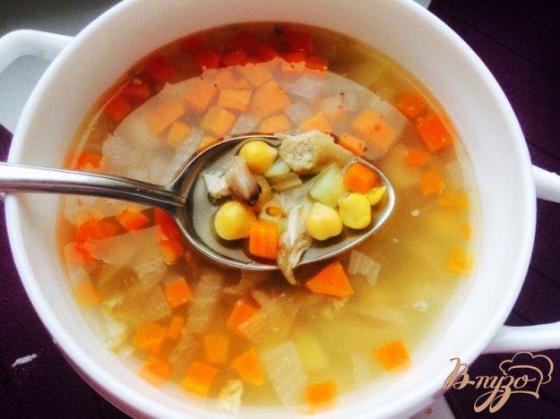 фото рецепта: Суп из нута и кролика