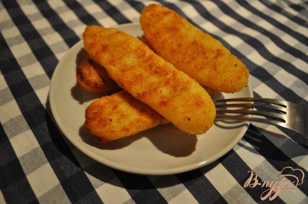 Картофельные палочки с сыром рецепт пошагово