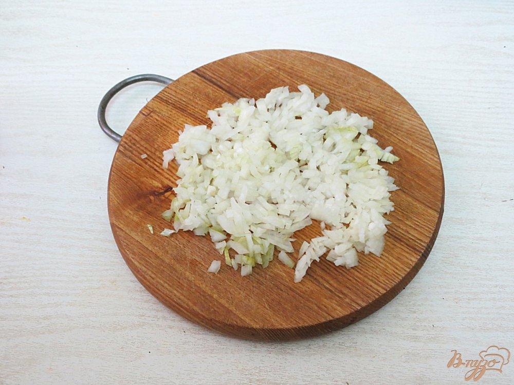 Фото приготовление рецепта: Зразы с зелёным луком шаг №4