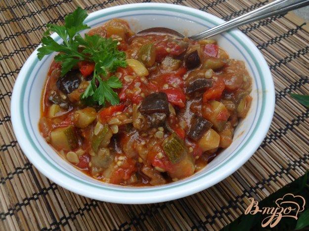 фото рецепта: Тушеные овощи