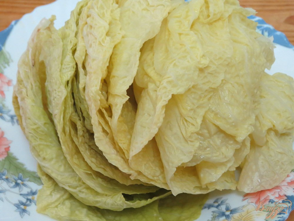 Фото рецепт голубцов из савойской капусты пошаговый