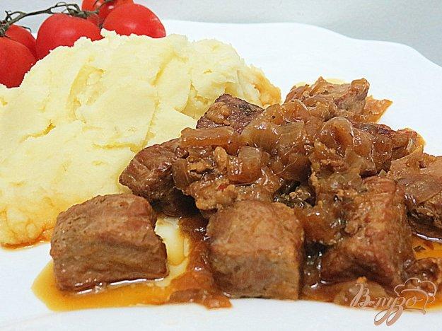 Мясная поджарка рецепт пошагово