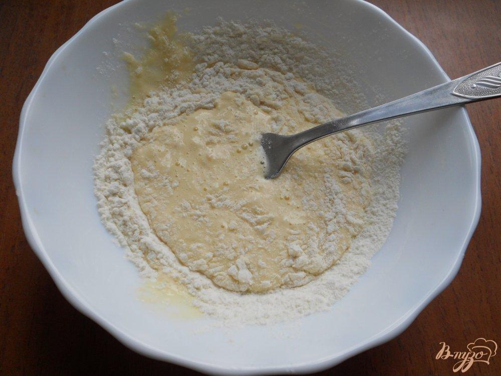 Фото приготовление рецепта: Шампиньоны в сырном кляре шаг №3