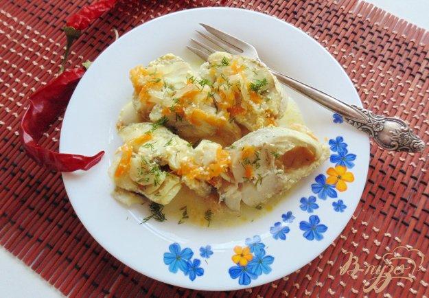 фото рецепта: Минтай в сметанном соусе
