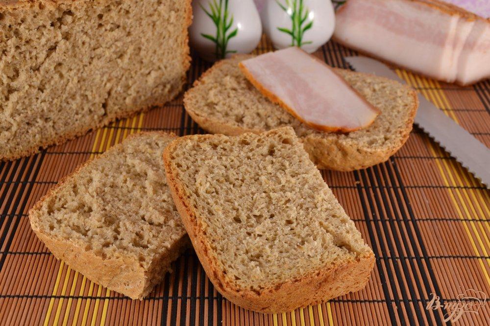 Фото приготовление рецепта: Отрубной хлеб в хлебопечке шаг №5