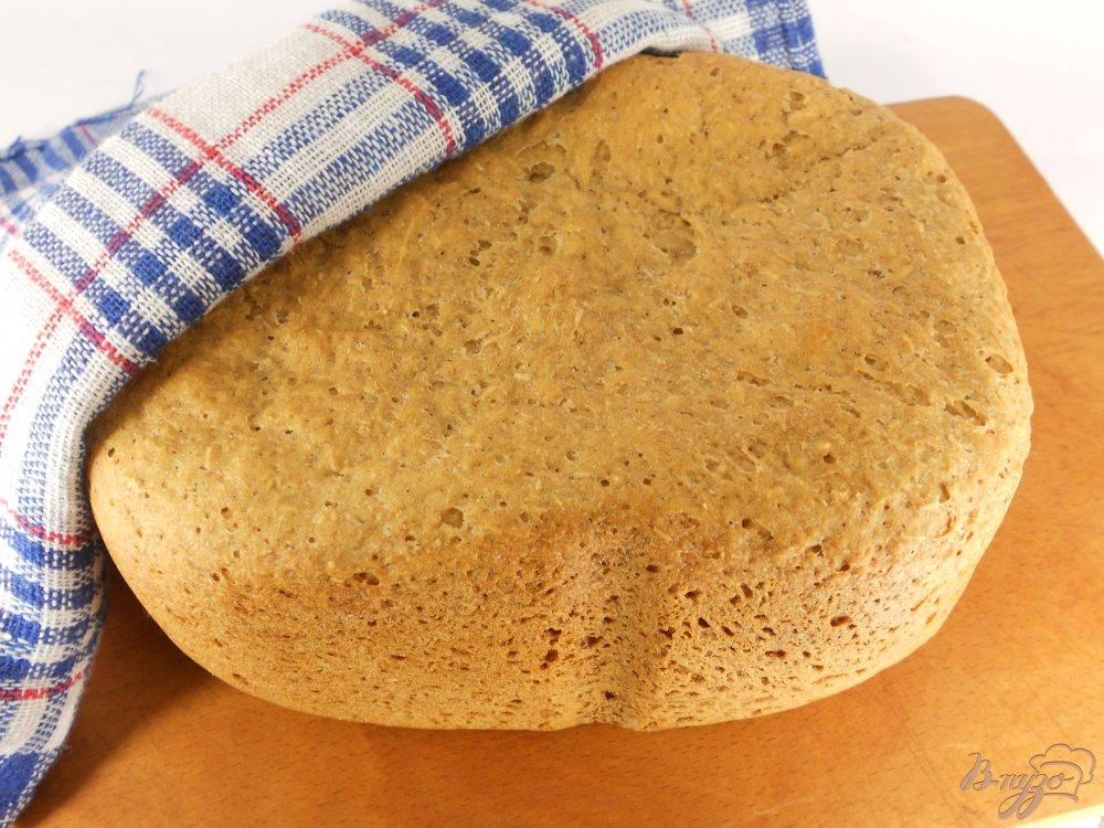 Фото приготовление рецепта: Отрубной хлеб в хлебопечке шаг №4