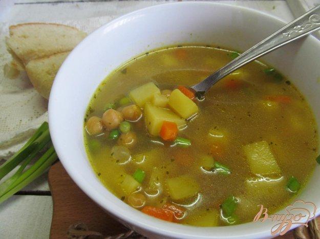фото рецепта: Суп на бульоне из баранины с нутом