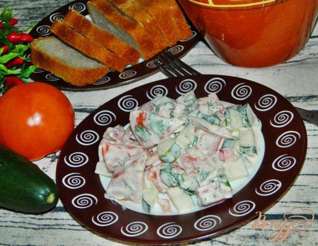 Пошаговое приготовление салата овощного