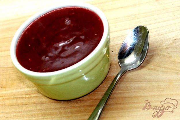 фото рецепта: Малиновый соус с