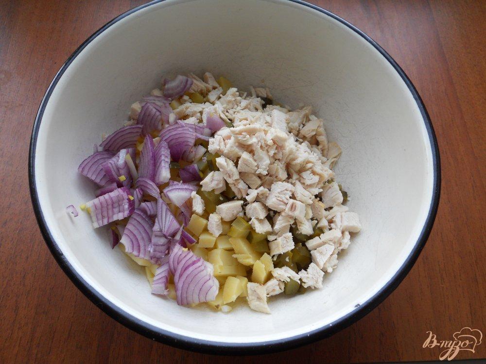 Финский картофельный салат рецепт