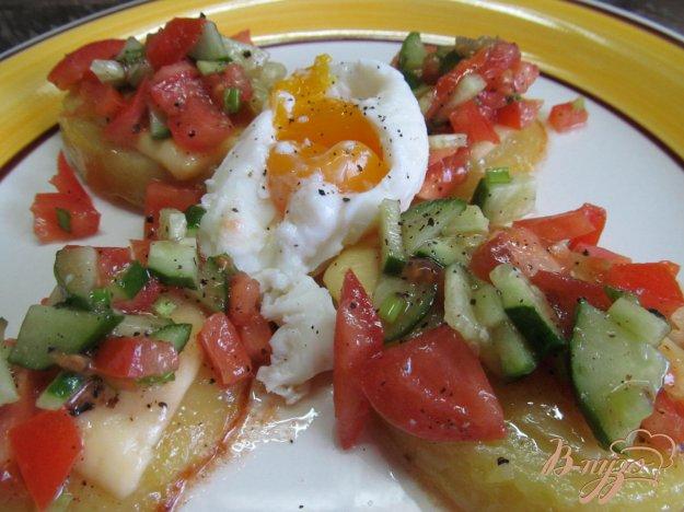 фото рецепта: Закуска - салат из овощей