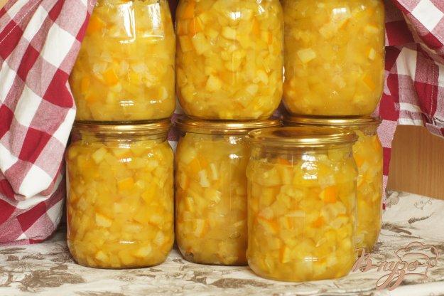 фото рецепта: Варенье из кабачов с лимоном и апельсином