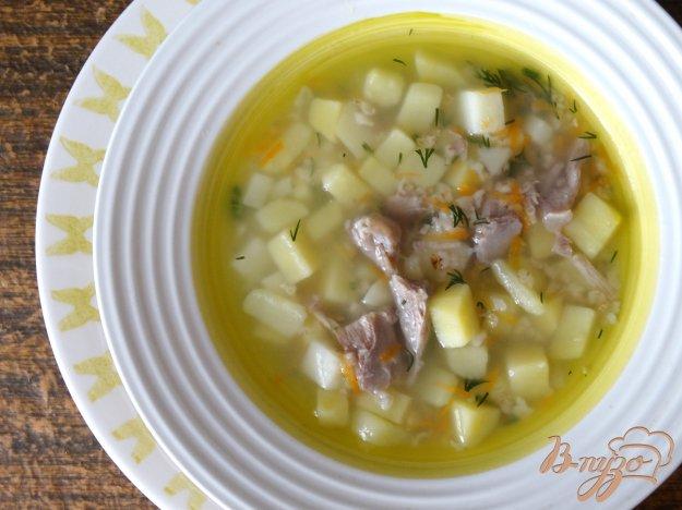 фото рецепта: Суп с индейкой и овсянкой