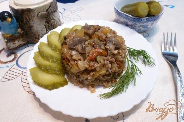фото рецепта: Гречневая каша с овощами