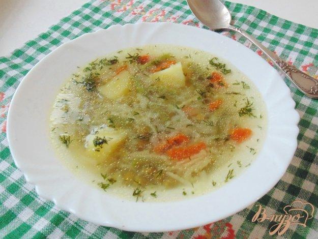 фото рецепта: Овощной суп с вермишелью