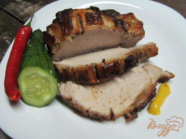 фото рецепта: Запеченная свинина под медом в белом вине