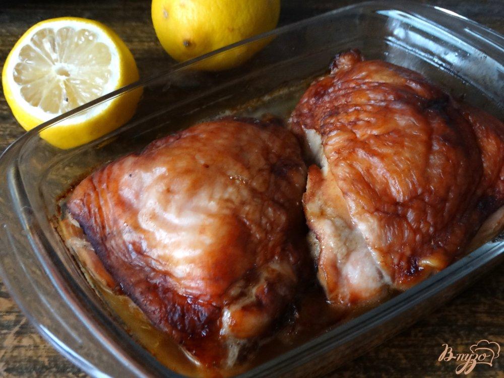 запеченные куриные бедрышки рецепт фото