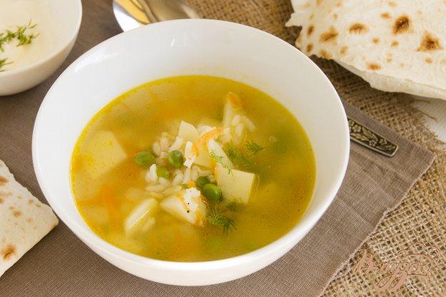 фото рецепта: Легкий рисовый суп