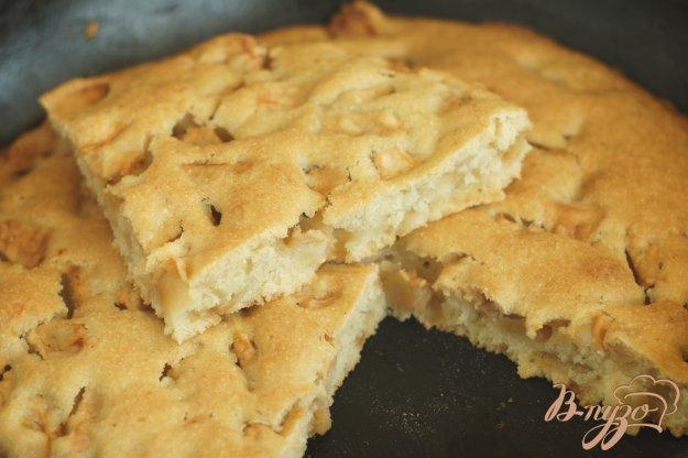 фото рецепта: Постный пирог с яблоками