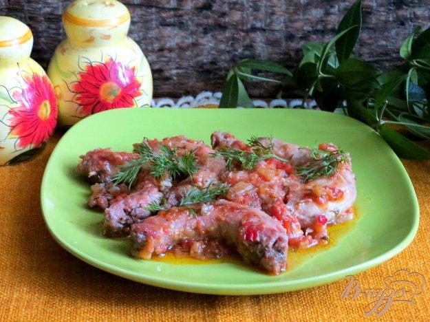 фото рецепта: Куриные шейки с помидором