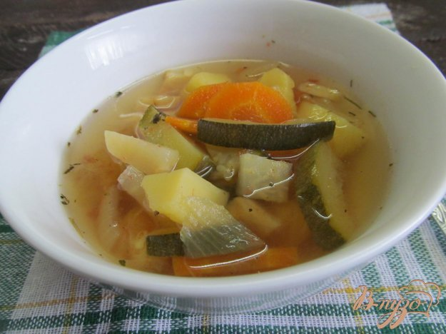 фото рецепта: Постный овощной суп