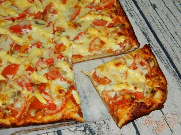 Пицца в чудо печке рецепт с фото