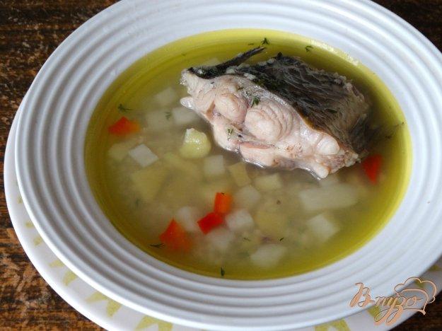 фото рецепта: Рыбный суп с карасями и кус-кусом