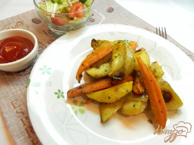 фото рецепта: Овощи в духовке