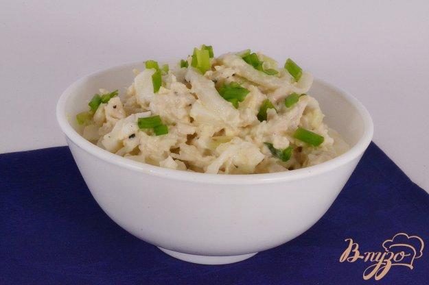 фото рецепта: Салат из кальмаров и курицы