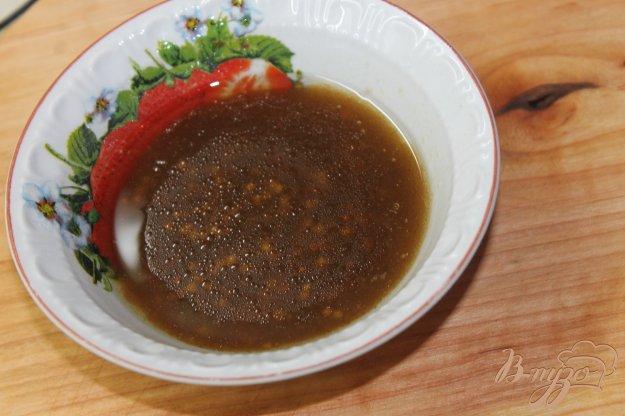 фото рецепта: Горчичный соус с бальзамическим уксусом